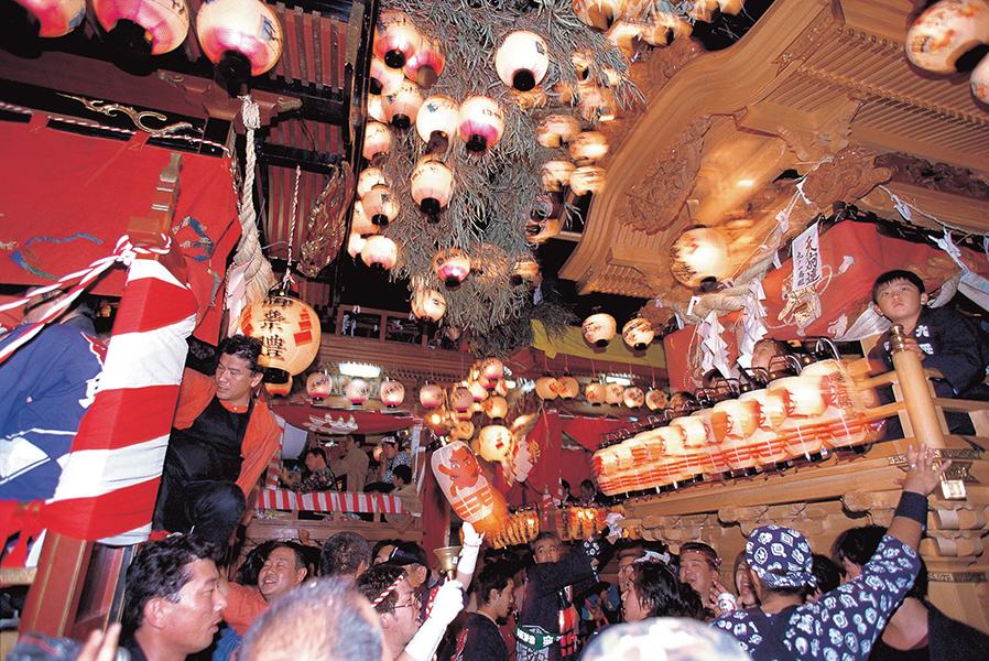 六社神社祭典