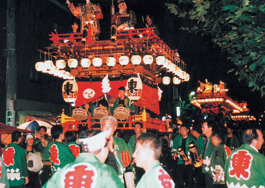 府八幡宮祭典